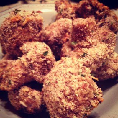 "... Eating Crispy Baked ""Fried"" Mushrooms & Our Favorite Steak ..."