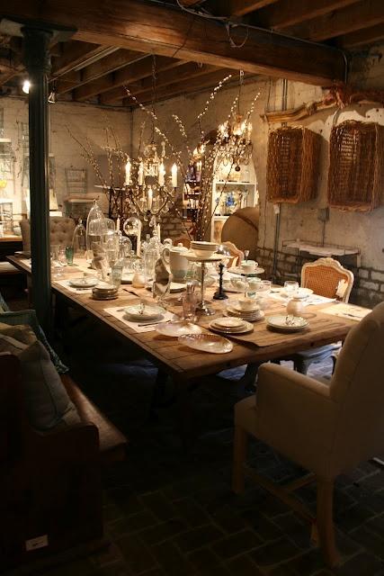Basement dining room