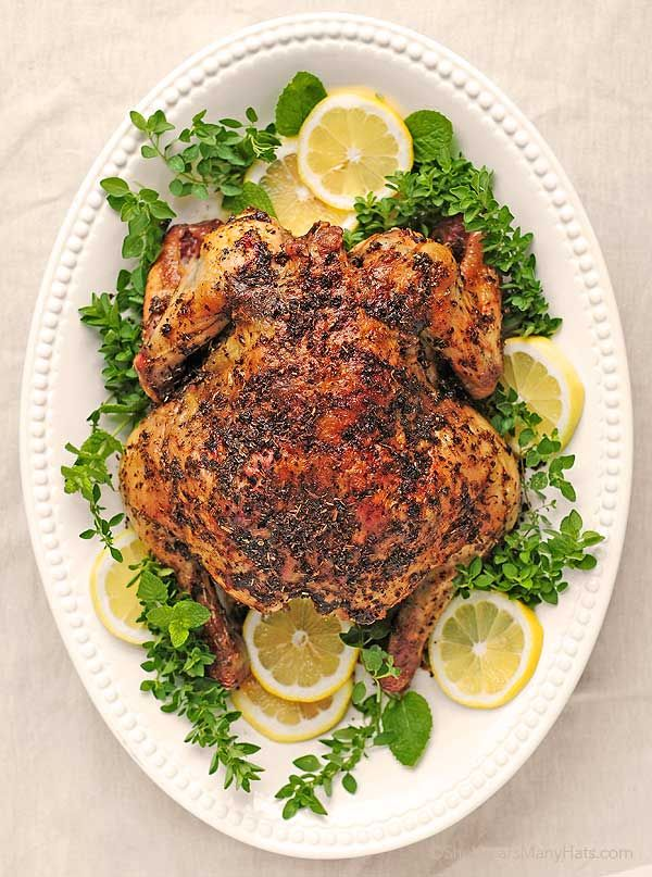 Greek Roasted Chicken | sooo, omit the brand spice mix and make your ...