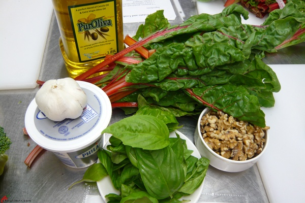 Swiss Chard Pesto | Food | Pinterest