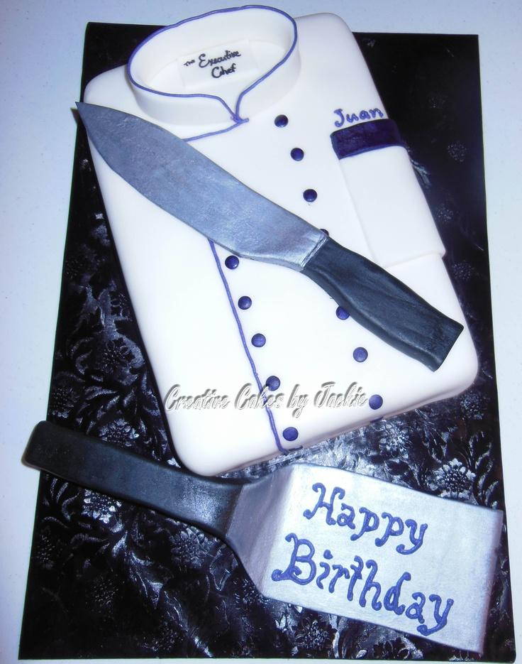 chef cake Cake Decorating Ideas Pinterest