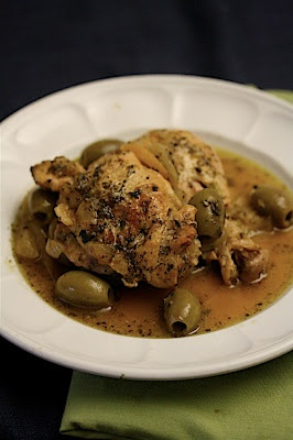 Chicken Tagine with Fennel, Preserved Lemons, and Green Olives   http ...