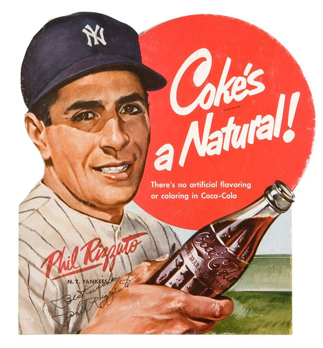 advertising vintage baseball