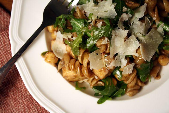 kosho cream pasta pasta with arugula pesto sun dried tomatoes and pine ...