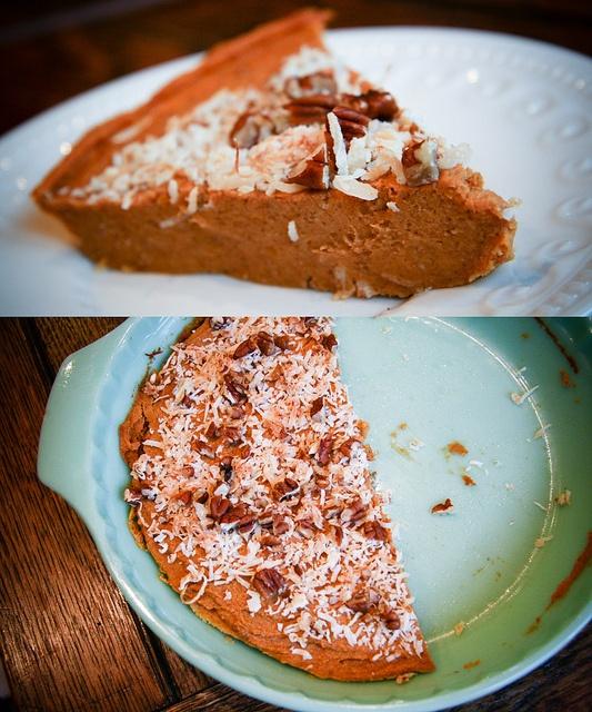 Vegan Sweet Potato Pie by vegsf, via Flickr. All natural sweeteners.