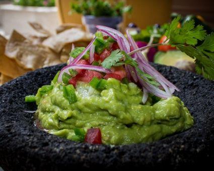 Roasted Garlic Guacamole Recipe #avocado #guacamole