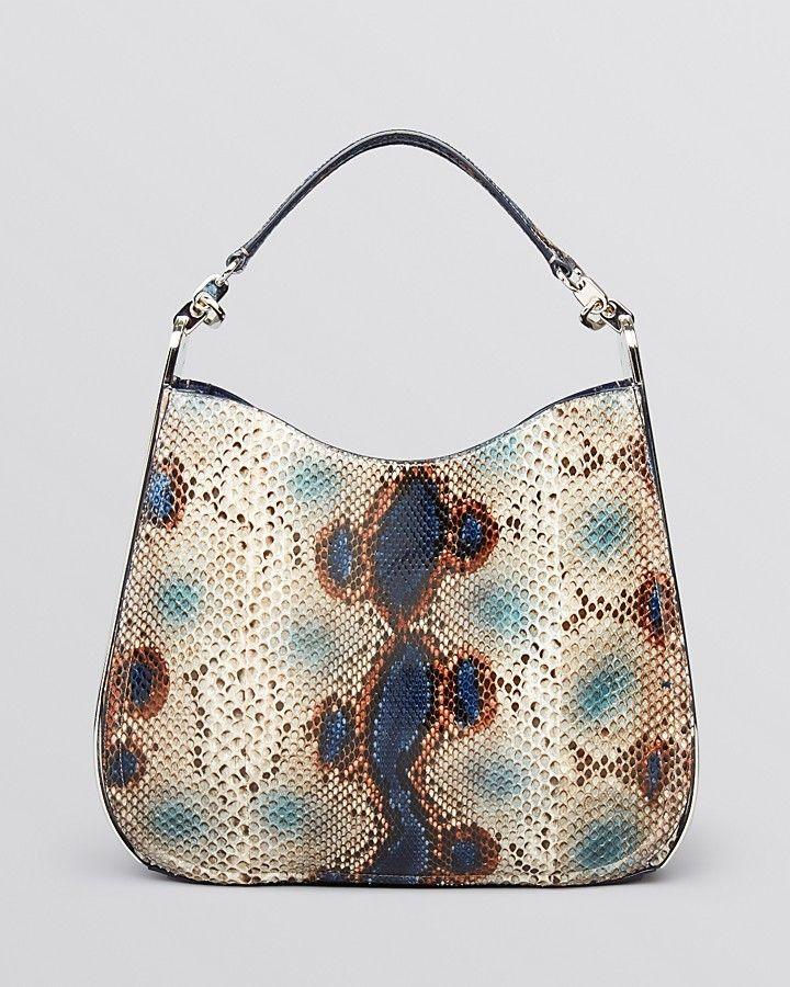Salvatore Ferragamo Hobo - Kittie Framed Python #handbags