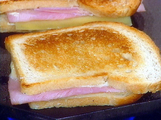 French grilled cheese and ham
