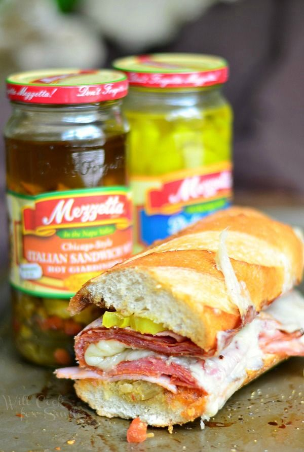Hot & Spicy Baked Italian Sub 3 from willcookforsmiles.com. Uses ...