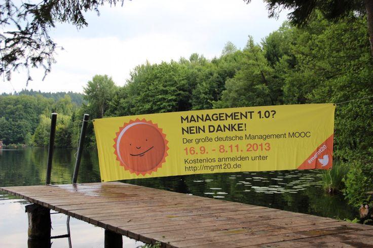 Auch am #Tüttensee hat der #mgmt20 #mooc voll eingeschlagen #chiemgauimpakt