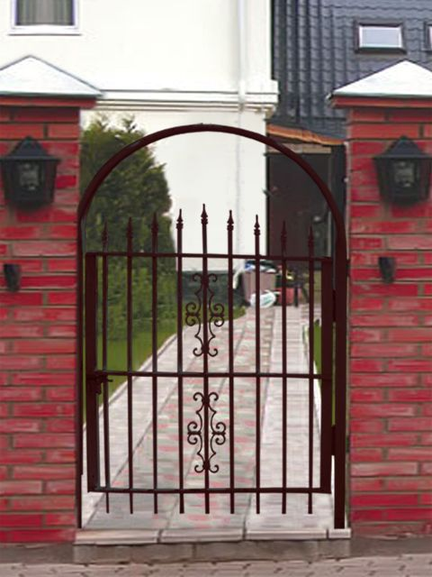 Front gate designs home accents pinterest for Front gate design ideas