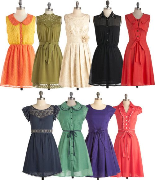 I want all of these. All from ModCloth