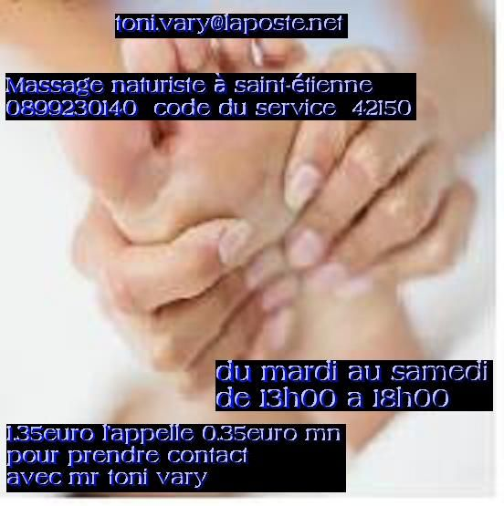 massage naturiste finition Saint-Étienne