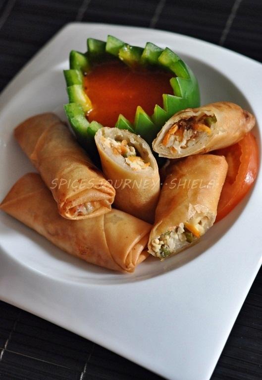 Fried spring rolls | Deep Fried | Pinterest