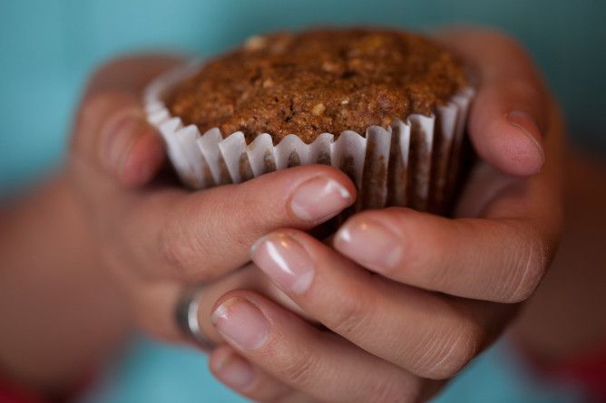 Spiced Apple-Carrot Muffin (Gluten -Free, Dairy Free, Vegan)