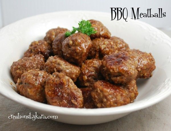 BBQ-meatballs | Recipes Tried and Good! | Pinterest