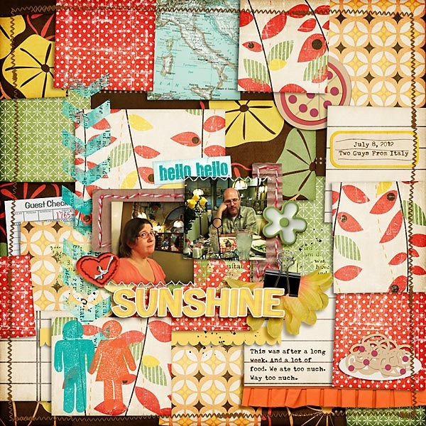 2012 07 08 2 guys from italy scrapbook layouts pinterest
