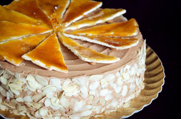 Dobos Torte | Recipes to Cook | Pinterest