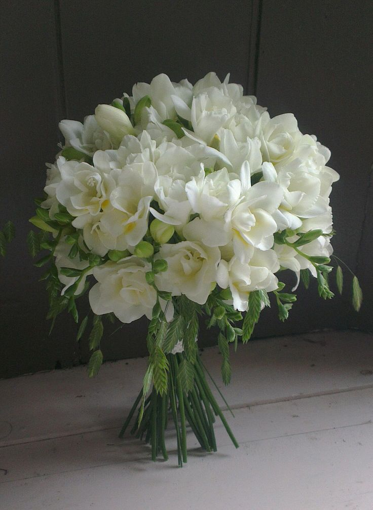 Freesia Bridal Bouquet Bouquet Pinterest