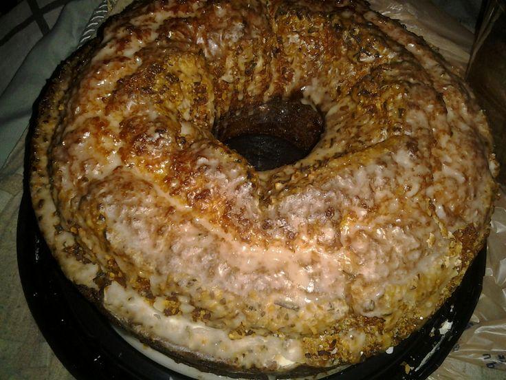 Louisiana Crunch Cake | Recipies | Pinterest
