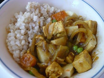 Japanese Curry with Tofu | Tofu. | Pinterest