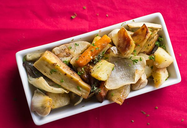 Roasted Potatoes, Garlic, Carrots, Turnips, Parsnips, Onions, Garlic ...