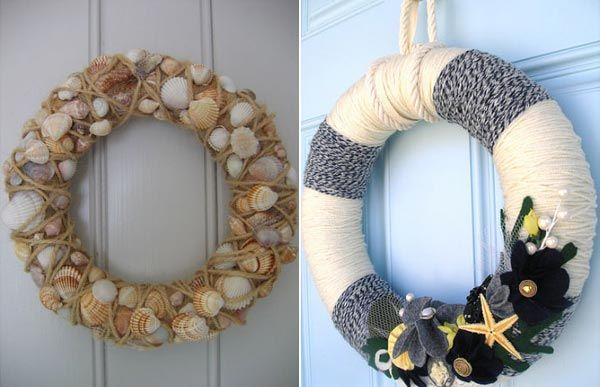 Love the wreath on the right