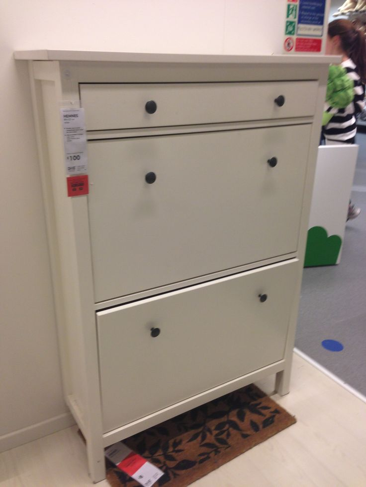 Ikea Hemnes Shoe Cabinet For The Home Pinterest