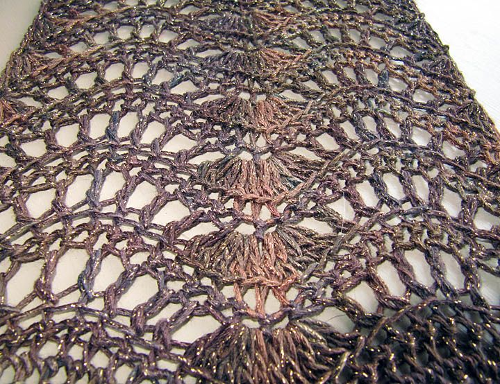 Feather And Fan Knitting Pattern Scarf : Pin by dihenydd on crochet Pinterest