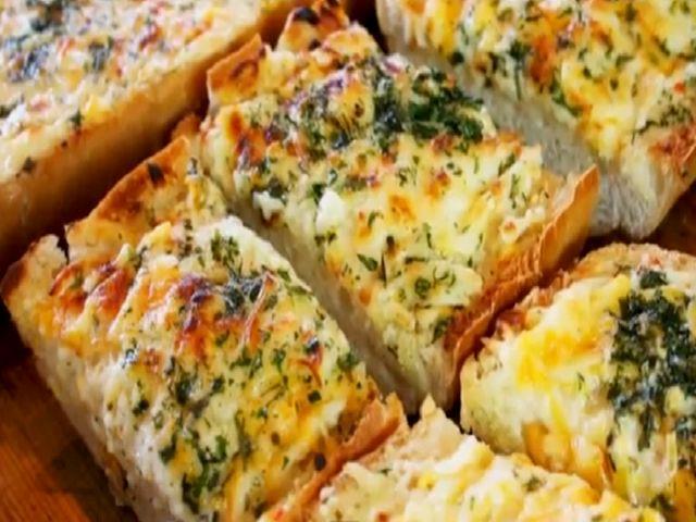 Garlic Cheesy Bread | breads | Pinterest