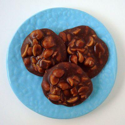 Chocolate Peanut Pralines | recipes: candies, fudge, etc. | Pinterest