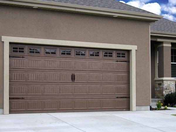Garage door color ideas for Garage door stain colors