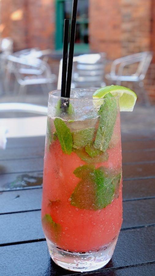 Watermelon Mint Lemonade | Watermelon Beverage | Watermelon Drink ...