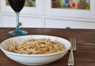 Lightened-up Pasta alla Carbonara | Healthy Alternatives | Pinterest