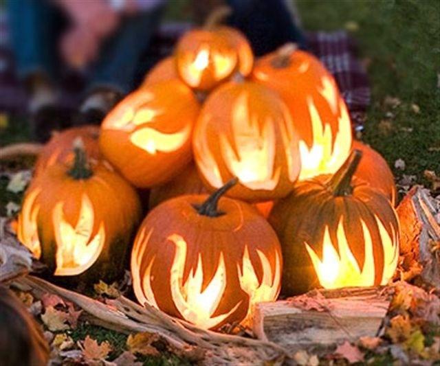 Pumpkin bon fire fall is here pinterest for Fall pumpkin stencils