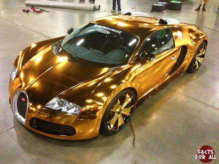 golden bugatti worth dollars just cars pinterest. Black Bedroom Furniture Sets. Home Design Ideas