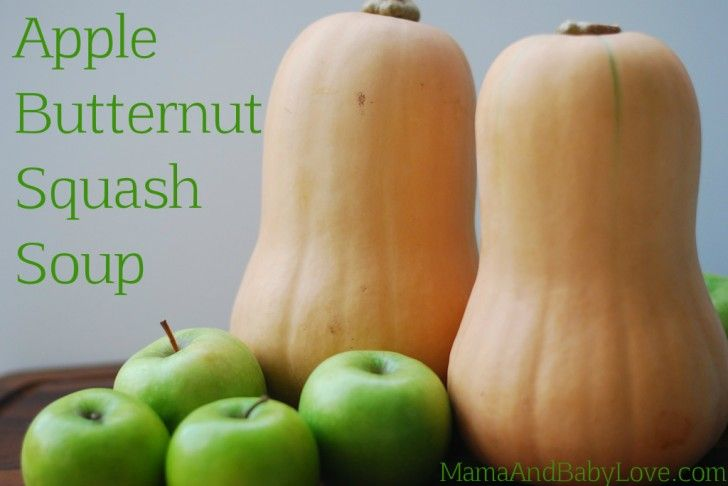 Apple-Butternut Squash Soup. Delish! | food | Pinterest