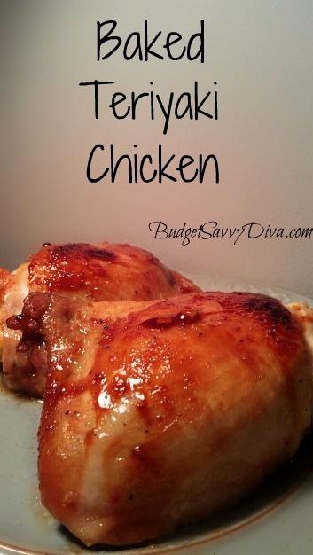 Baked Teriyaki Chicken Recipe | chicken | Pinterest