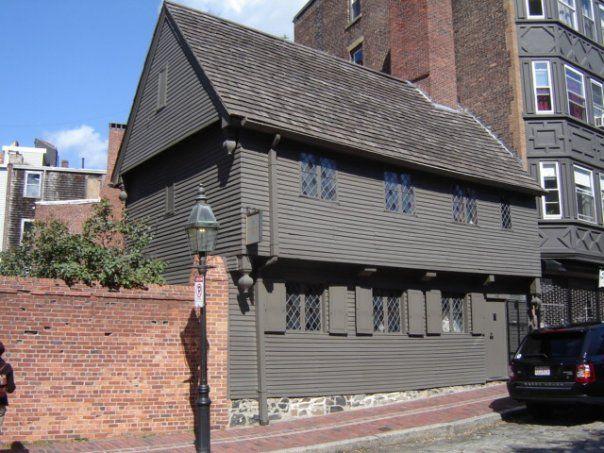 Paul Revere House on Boston's Freedom Trail