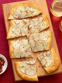 Potato Flatbread | Doughy Things! | Pinterest