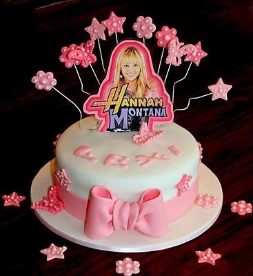 Hannah Montana Cake Tutorial