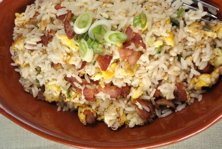 bacon and egg fried rice | On the menu | Pinterest
