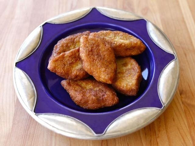 fried leek patties | veggies | Pinterest