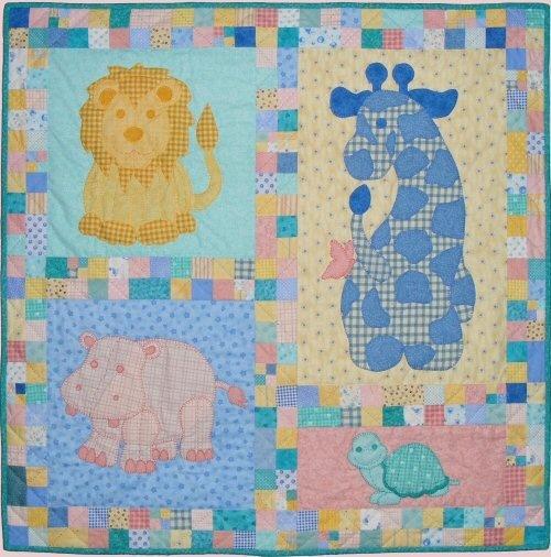 Jungle Animals Baby Quilt Animals Pinterest