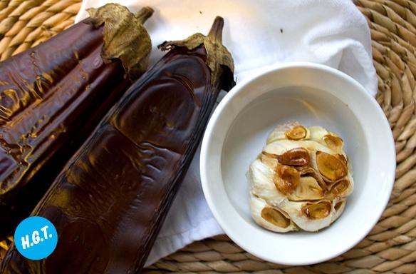 Babaganoush with Roasted Garlic