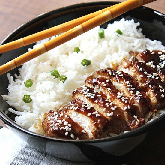 baked teriyaki chicken easy teriyaki chicken easy chicken teriyaki pan ...