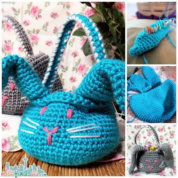 Crochet How To: Free Beginner Amigurumi Easter Bunny ...