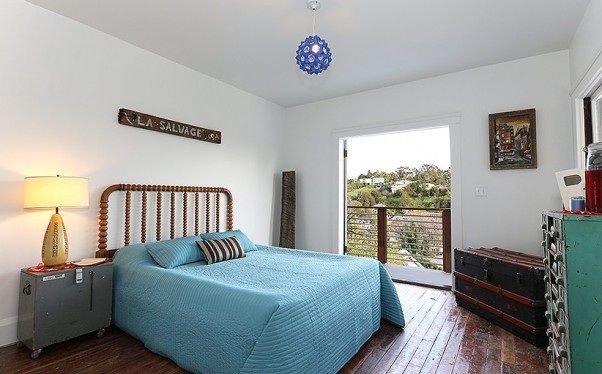 Modern Guest Room : Modern spindle guest room  Mid century  Pinterest
