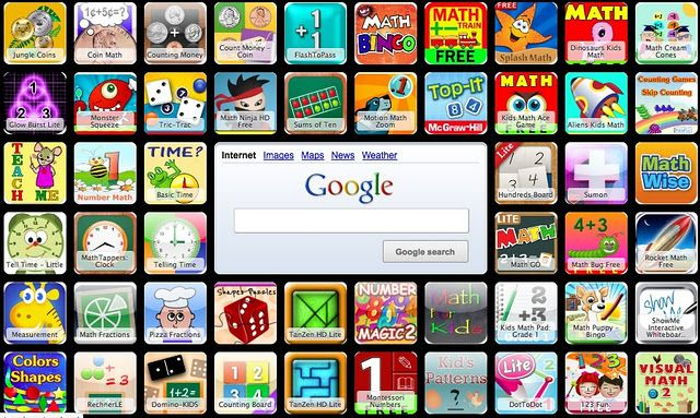 Math iPad apps (with Symbaloo)