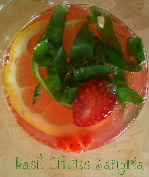 IMG_8052---basil citrus sangria | Drinks | Pinterest